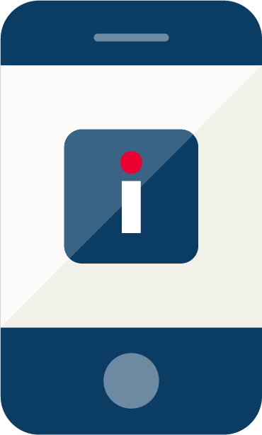 Smart phone pictogram