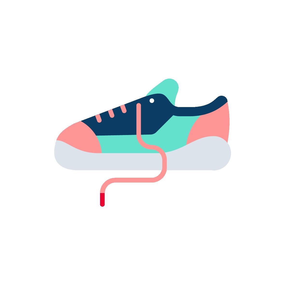 Trainers pictogram