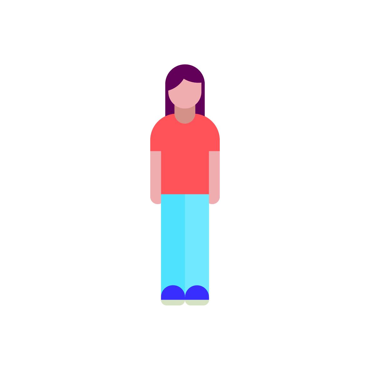 Woman pictogram