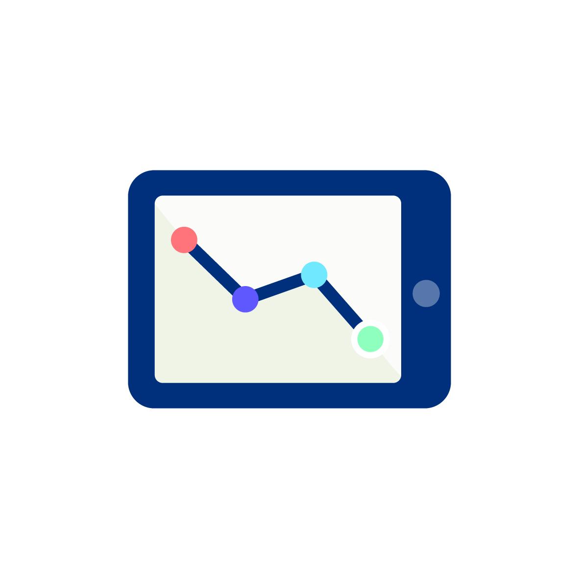 Tablet pictogram