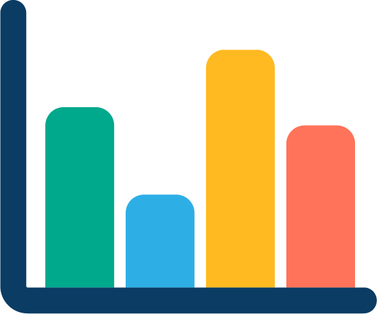 Graph pictogram